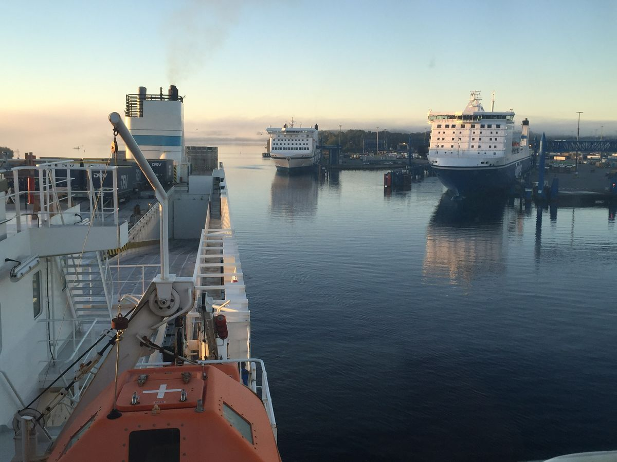 Leaving Scandi to sea